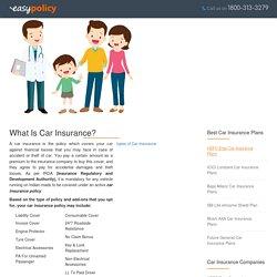 Compare Best Online Car Insurance Plans