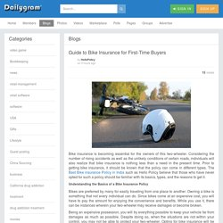 Guide to Bike Insurance for First-Time Buyers » Dailygram ... The Business Network
