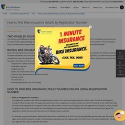 bike insurance status