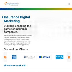 Insurance Website Development - edynamic