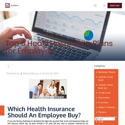 Top 5 Health Insurance Plans for Employee