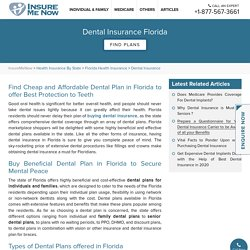 Dental Insurance Florida : Best Dental Insurance Plans FL