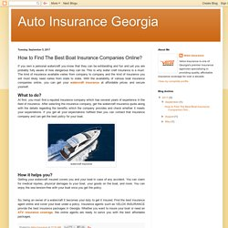 How to Find The Best Boat Insurance Companies Online?