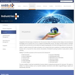 GIS for Insurance at AABSyS