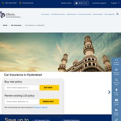 Car Insurance in Hyderabad: Buy/Renew Car Insurance Policy in Hyderabad