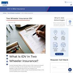 IDV In Bike Insurance