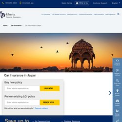 Car Insurance in Jaipur: Buy/Renew Car Insurance Policy in Jaipur