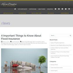 Flood Insurance - Diablo Loan Officer - Diablo Home Mortgage - Alamo Home Loan