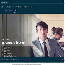 Insurance broker job profile