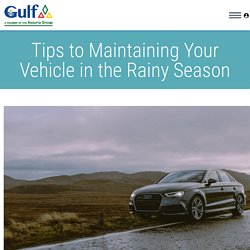 Insurance you must have for your car in the rainy season.