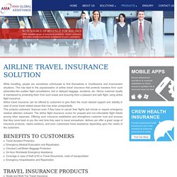 Airline Flight Insurance and Travel Insurance Solutions