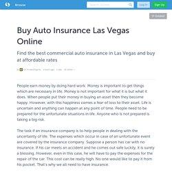 Buy Auto Insurance Las Vegas Online