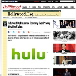 Hulu Sued By Insurance Company Over Privacy Violation Claims