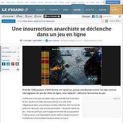 Jeux vidéo : Une insurrection anarchiste se déclenche dans un jeu en ligne