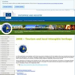 2008 - Turismo y patrimonio local inmaterial - Destinos de Excelencia