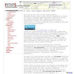 IntarS Open Source ERP - Impressum