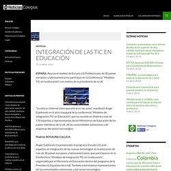 Integración de las TIC en educación