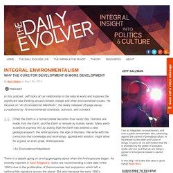 Integral Environmentalism