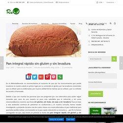 Pan integral rápido sin gluten y sin levadura - Reverde. Centro de Nutrición y Salud