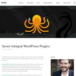 Seven Integral WordPress Plugins - The Media Temple Blog