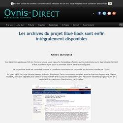 Les archives du projet Blue Book sont enfin intégralement disponibles