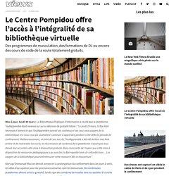 Le Centre Pompidou offre l'accès à l'intégralité de sa bibliothèque virtuelle - Views