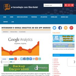 Integrando o Google Analytics ao seu app Android