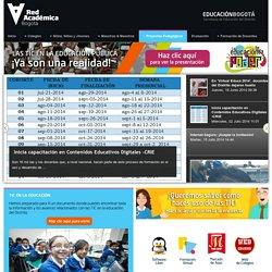 Portal Educativo Redacademica. Secretaría de Educación de Bogotá D.C. - MITICA - Modelo para Integrar las TIC al Currículo Escolar