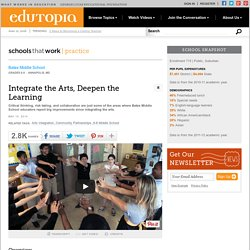 Integrate the Arts, Deepen the Learning
