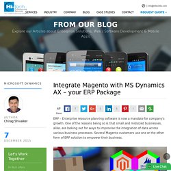 Integrate Magento with MS Dynamics AX - your ERP Package - Hi-Tech ITO