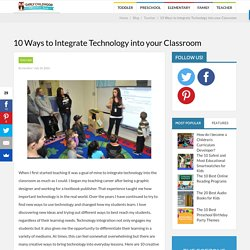 10 Ways to Integrate Technology into your Classroom - Early Childhood Education Zone
