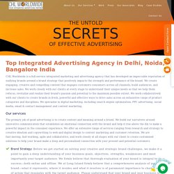 Top Integrated Advertising Agency Delhi, Noida, Bangalore India