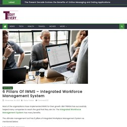 6 Pillars Of IWMS - Integrated Workforce Management System