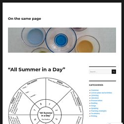 "Integrated Skills Through Literature: ""All Summer in a Day"" – On the same page"
