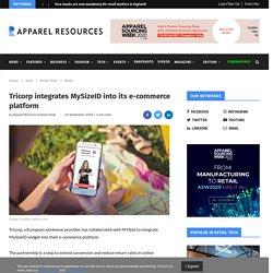 Tricorp integrates MySizeID into its e-commerce platform