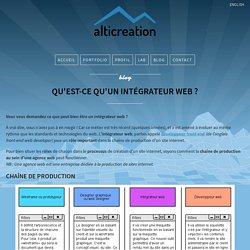 Qu'est-ce qu'un intégrateur web ? (ou développeur web front-end)
