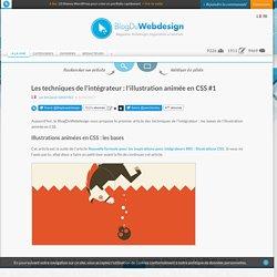 Les techniques de l'intégrateur : l'illustration animée en CSS #1