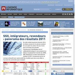 SSII, intégrateurs, revendeurs : panorama des résultats 2011