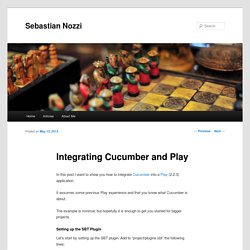 Integrating Cucumber and Play