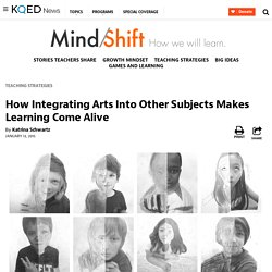 How Integrating Arts Into Other Subjects Makes Learning Come Alive