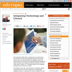 Integrating Technology and Literacy