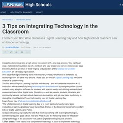 3 Tips on Integrating Technology in the Classroom
