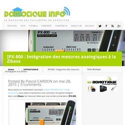 IPX-800 : Intégration des mesures analogiques à la Zibase