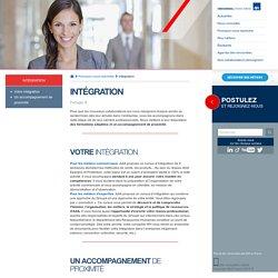 Intégration - AXA Recrutement