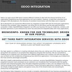 Odoo Integration Services