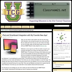 iPad and Smartboard Integration with My Favorite New App! » Classroom21