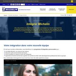 Intégrer Michelin, programme d'intégration des nouveaux collaborateurs