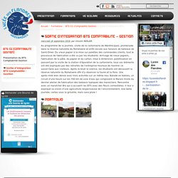 Sortie d'intégration BTS Comptabilité - Gestion - Lycée des Flandres à Hazebrouck entre Lille et Dunkerque
