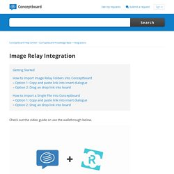 Image Relay Integration – Conceptboard Help Center