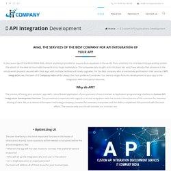 API Integration Development Services